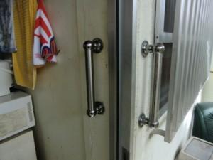 高齢者用 ドア手すり取付