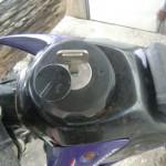 ガソリンタンクの鍵