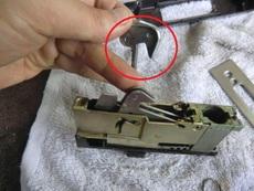 サムターン鍵の修理