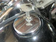バイクタンクの鍵を作りたい